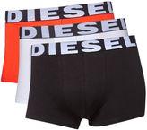 Diesel 3 Pack Of Block Colour Trunks