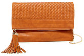 Urban Expressions Loretta Woven Faux Leather Clutch