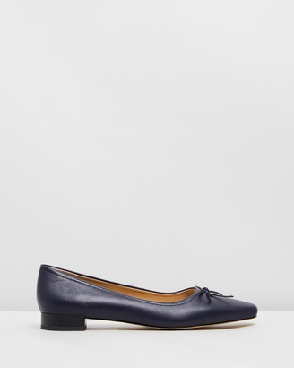 Atmos & Here Abbie Leather Flats