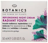 Botanics Radiant Youth Replenishing Night Cream 50ml