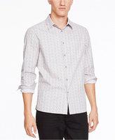 Kenneth Cole New York Men's Slim-Fit Dot-Print Shirt