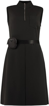 Prada Belted Waist Dress