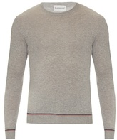 Moncler Contrast-trim Cotton Sweater