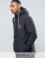 Majestic Raiders Padded Overhead Jacket Exclusive To Asos