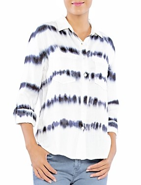 BILLY T Sonar Tie Dyed Shirt