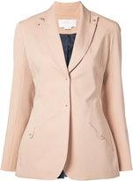 Esteban Cortazar fitted blazer - women - Cotton/Spandex/Elastane - 36