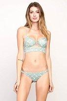 RVCA Women's Crystalized Bralette Bikini Top