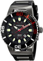 Torgoen Swiss Men's T23306 T23 Gunmetal 200 ATM GMT Dive Watch