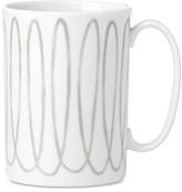 Kate Spade Charlotte Street West Grey Collection Mug