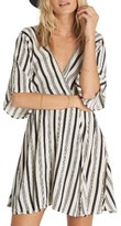Billabong Women's Dolly Print Flutter Sleeve Dress