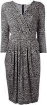 Max Mara zebra print dress