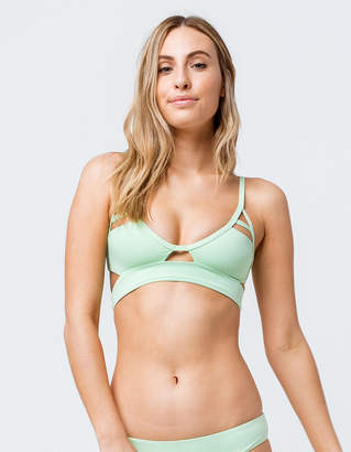 Tavik Jessi Lime Triangle Bikini Top