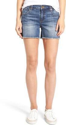KUT from the Kloth Gidget Denim Shorts