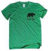 Eri Papa Bear T-Shirt Pocket Print Dad Shirt Papa Tshirt Husband Gift Father shirt