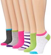 MIXIT Mixit 6-pc. No Show Socks - Womens