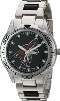 Game Time Men's NHL-HH-PHO Heavy Hitter Analog Display Japanese Quartz Silver Watch