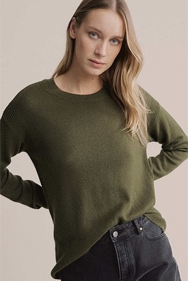Witchery High Lo Crew Knit