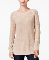 Maison Jules Crew-Neck Sweater, Only at Macy's