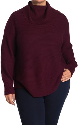 Cyrus Cowl Neck Sweater (Plus Size)