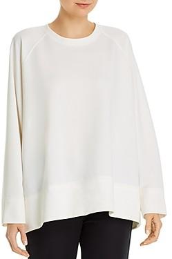 Eileen Fisher Petites Round Neck Sweatshirt
