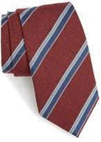 David Donahue Men's Stripe Tie