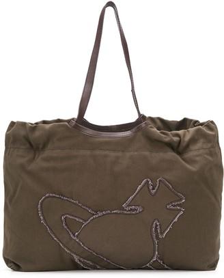 Vivienne Westwood Embroidered Logo Tote Bag