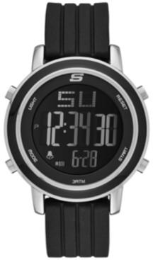 Skechers Women's Westport Silicone Strap Watch 40mm
