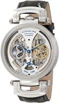 Stuhrling Original Men's 590.33152 Special Reserve Emperor Luster Analog Display Automatic Self Wind Black Watch