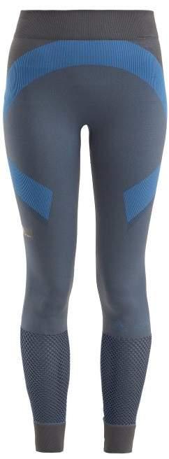adidas by Stella McCartney Train Seamless Leggings - Womens - Grey Multi