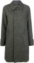 A.P.C. single breasted tweed coat