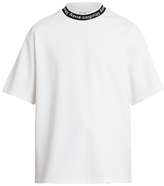 Acne Studios Extorr Ribbed Logo T-Shirt