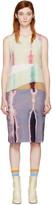 Acne Studios Multicolor Sagita Bleach Dress