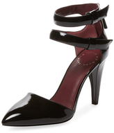 Marc by Marc Jacobs Reese Shark Tooth Patent Leather Pump