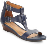 Kenneth Cole Reaction Great Step Leather Sandals