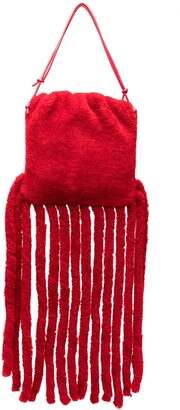 Bottega Veneta The Fringe pouch