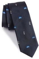 Paul Smith Psychedelic Silk Jacquard Tie