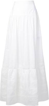 Calvin Klein Pioneer ruffled skirt