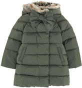 Il Gufo Coat with feather padding