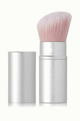 RMS Beauty Retractable Luminizing Powder Brush - Silver