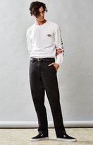 Dickies Slim Fit Tapered Leg Black Work Pants