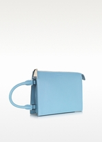 Jil Sander Tootie Knitted Leather Clutch