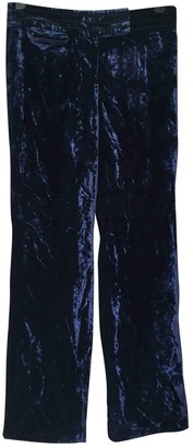 Whistles Blue Trousers for Women