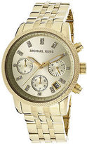 Michael Kors MK5676 Women's Chronograph Gold Tone Dial Gold Tone Stainless