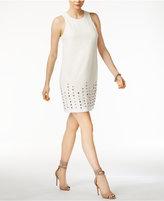 Rachel Roy Studded-Hem Shift Dress