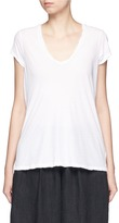 James Perse V-neck cotton jersey T-shirt