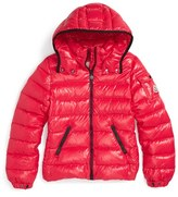 Moncler Girl's 'Bady' Hooded Down Jacket