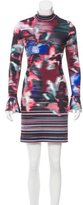 Clover Canyon Digital Print Mini Dress w/ Tags