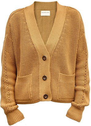 The Knotty Ones Preila Cardigan In Camel