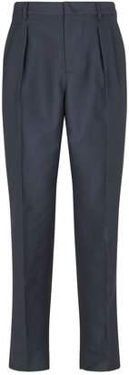 Valentino Silk-Cotton Trousers