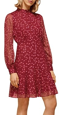 Whistles Falling Leaves Printed Dress